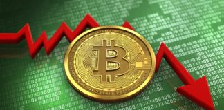 Bitcoin lại tụt dốc