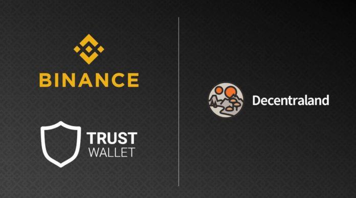 Binance hợp tác với Decentraland